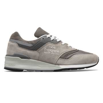 New Balance Made in US 997, Grey with White