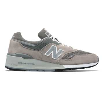 New Balance 997 Made in US, Grey with White