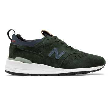 New Balance 997R Made in US, Green with Blue