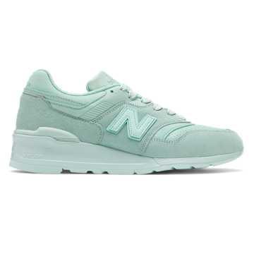 New Balance 美国原产997男女同款复古休闲运动鞋, 薄荷绿
