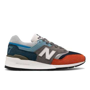 New Balance Made in US 997, Light Blue with Grey