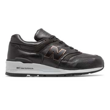 New Balance Made in US 997, Black with Grey