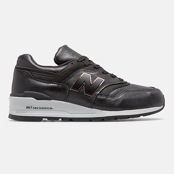 New Balance 美国原产997系列高级牛皮革男女同款复古休闲鞋, M997PAF