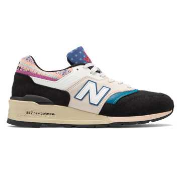 New Balance Made in US 997, Black with Nimbus Cloud