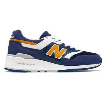 New Balance Made in US 997, Blue with White