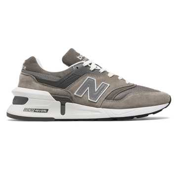 New Balance Made in US 997 Sport, Grey with White