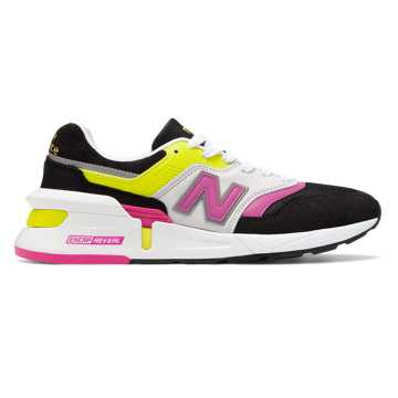 New Balance Made in US 997 Sport, Black with Yellow