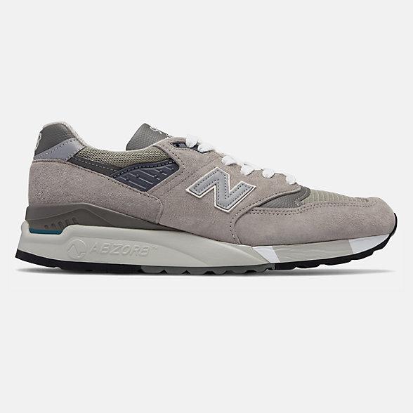 New Balance 美国原产998系列男款复古休闲鞋, M998