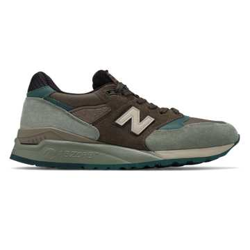New Balance 998 Made in  US, Brown with Grey