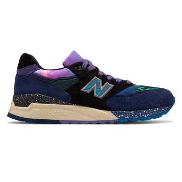 New Balance Made in US 998, Blue with Green