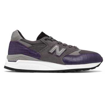 New Balance 998 Made in US, Purple with Grey