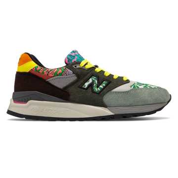 New Balance Made in US 998, Green with Brown