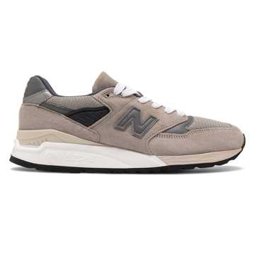 New Balance Made in US 998, Grey with Light Grey