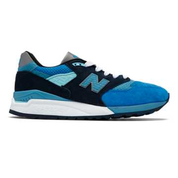 New Balance 998 Made in US, Blue with Silver