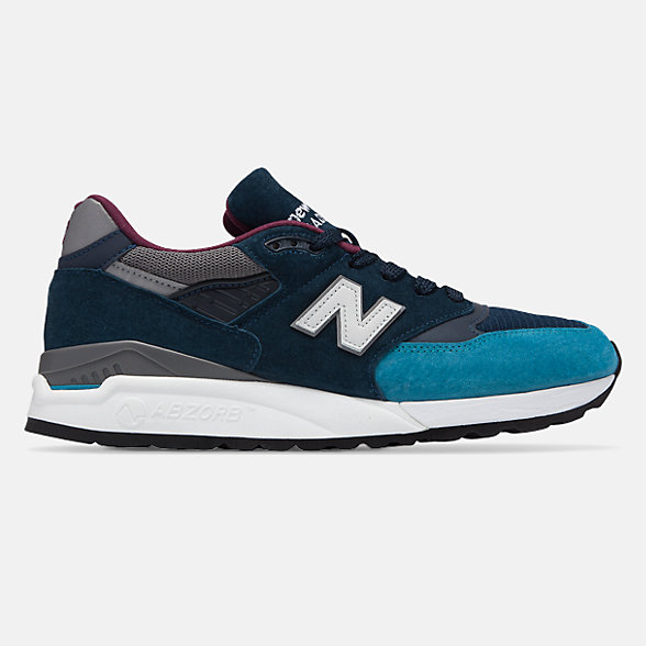 NB Made in US 998 Suede, M998TCA