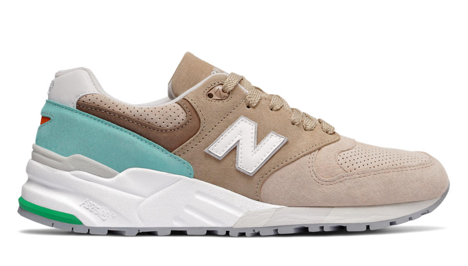 new balance en color beige
