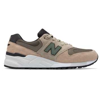 New Balance 999 Made in US, Tan with Covert Green