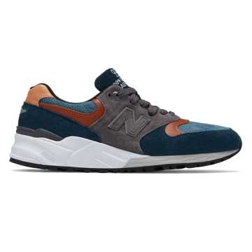 New Balance 999 Made in US, Navy with Grey