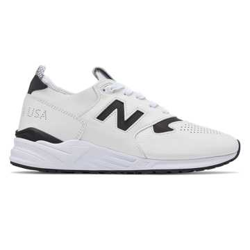 New Balance 999 Deconstructed Made in US, White with Black