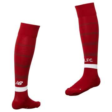 New Balance LFC Home Sock, Red Pepper