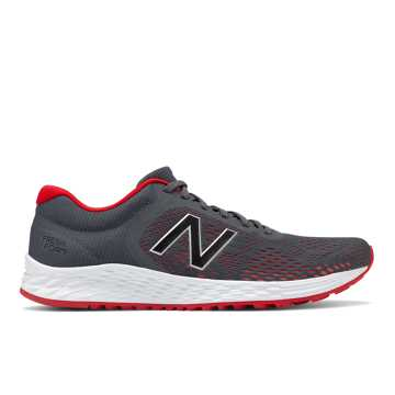 New Balance Fresh Foam Arishi v2, Grey with Team Red