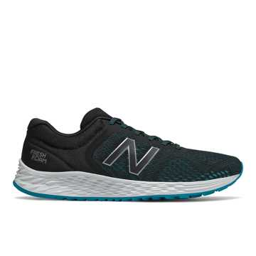 New Balance Fresh Foam Arishi v2, Black with Deep Ozone Blue