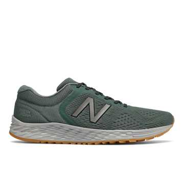 New Balance Fresh Foam Arishi v2, Green with Silver