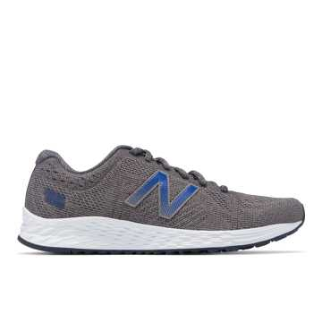 New Balance Fresh Foam Arishi Sweatshirt Refresh, Gunmetal with Outerspace & Team Royal
