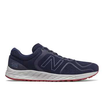 New Balance Fresh Foam Arishi v2, Navy with Red