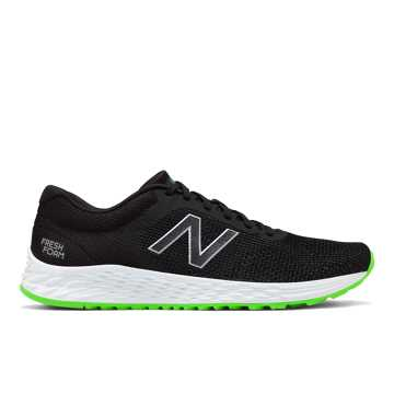 New Balance Fresh Foam Arishi v2, Black with RGB Green