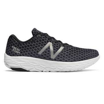 New Balance Fresh Foam Beacon, Black with Magnet & White
