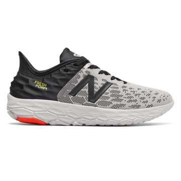 New Balance Fresh Foam Beacon v2, Rain Cloud with Black & Neo Flame