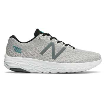 New Balance Fresh Foam Beacon, Arctic Fox with Deep Ozone Blue & Black