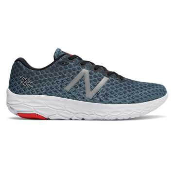 New Balance Fresh Foam Beacon, Petrol with Flame & White