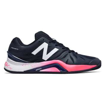 New Balance New Balance 1296v2, Navy with Bright Cherry