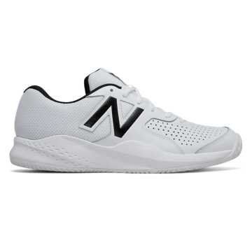 New Balance 696v3, White with Black