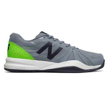 New Balance 786v2, Grey with Energy Lime