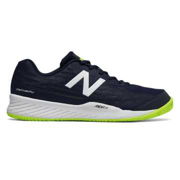 New Balance 896v2, Navy with Hi-Lite