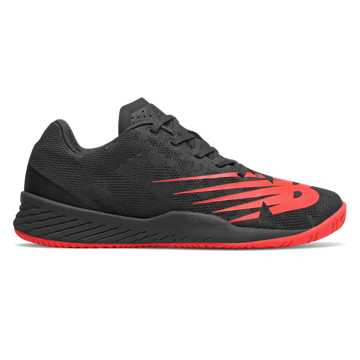 New Balance 896v3, Black with Energy Red