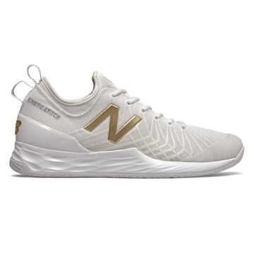 New Balance Fresh Foam Lav, White with Gold