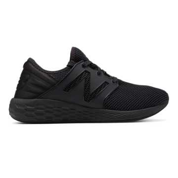 New Balance Mens Fresh Foam Cruz v2 Sport, Black