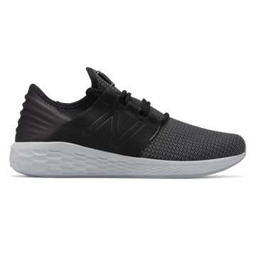 New Balance Fresh Foam Cruz v2 Nubuck, Black with Castlerock