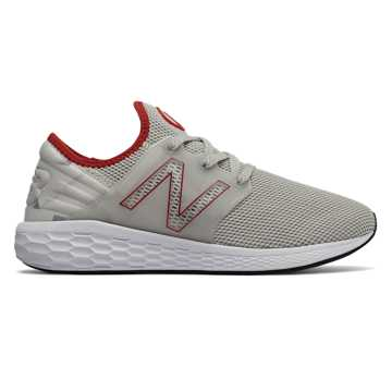 New Balance Fresh Foam Cruz LFC, Grey with Red