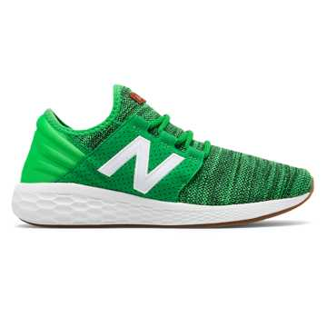 New Balance Men's Fresh Foam Celtics Cruz, Green with White