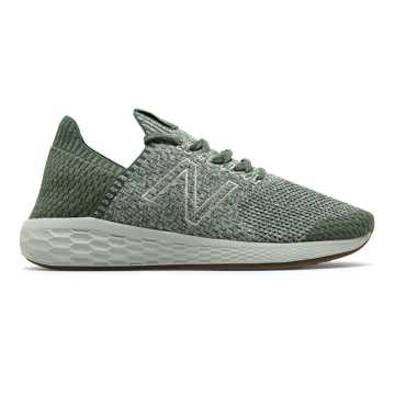 New Balance Fresh Foam Cruz SockFit, Faded Rosin with Rain Cloud & Mineral Green