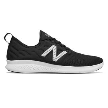 New Balance FuelCore Coast v4, Black with White