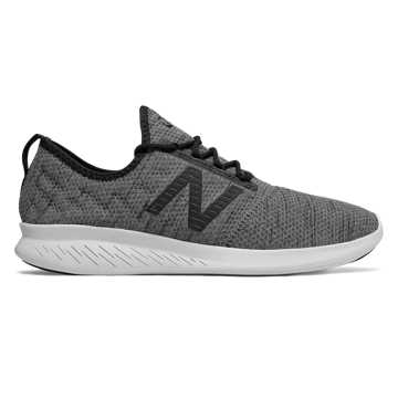 New Balance FuelCore Coast v4 Hoodie, Phantom with Black
