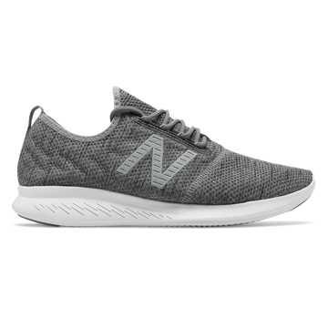 New Balance Fuel系列男款跑步鞋 轻量舒适 透气缓震, 麻灰色