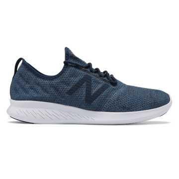 New Balance Coast系列男款跑步运动鞋, 麻蓝色