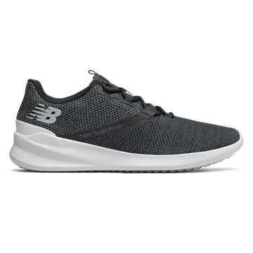 New Balance MDRNBK1男款跑步运动鞋, 黑灰色